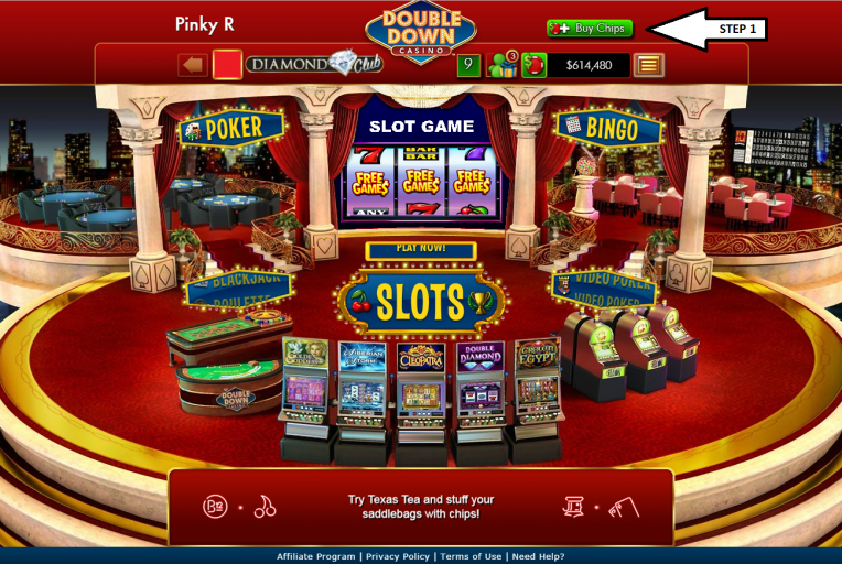 Double diamond casino game