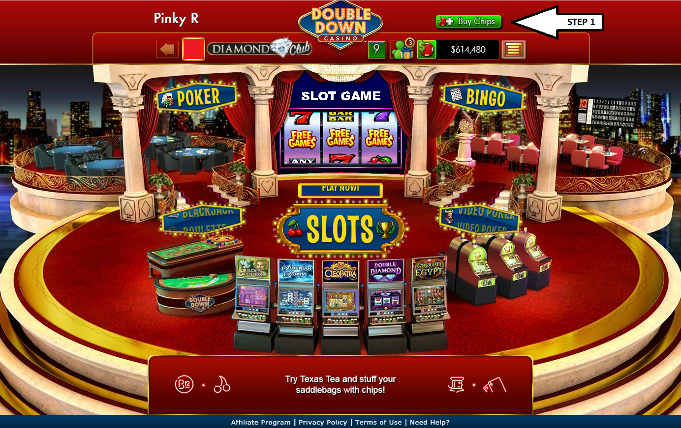 Double down casino free slot games